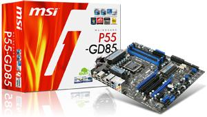 MSI USB 3.0-ready P55-GD85 motherboard