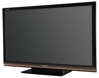 CES+2010%3A+Sharp+LC%2D60E88UN+240Hz+60%2Dinch+LCD+TV+
