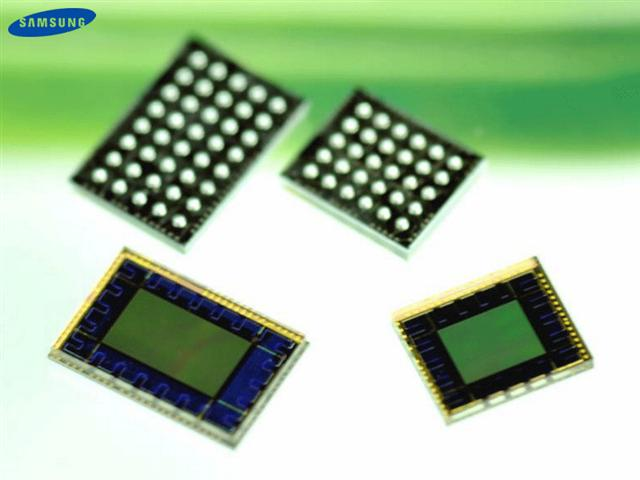 Samsung CMOS image sensors for webcams