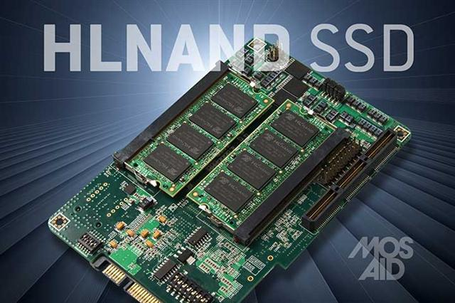 Mosaid HLNAND SSD prototype