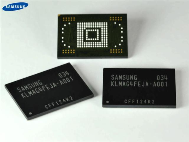 Samsung moviNAND using 20nm-class technology
