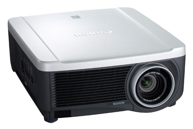 Canon REALiS WUX4000 LCoS projector