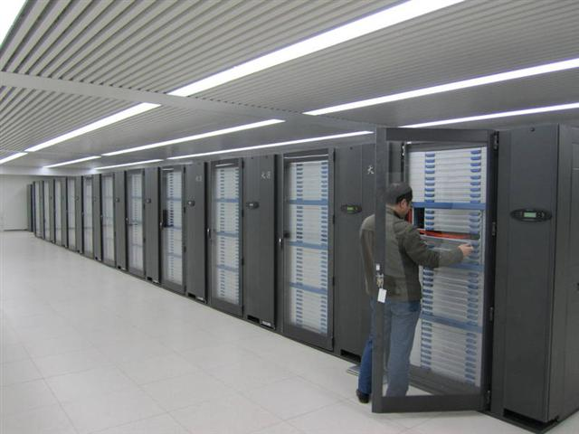 Tianhe-1A supercomputer in China