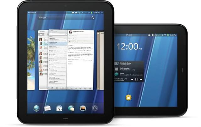 HP WebOS-based TouchPad tablet PC