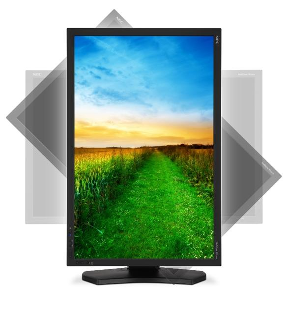 NEC 30-inch MultiSync PA301W-BK LCD display