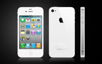 White+iPhone+4