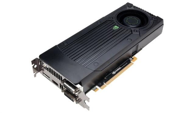 Nvidia GeForce GTX 660 Ti graphics card