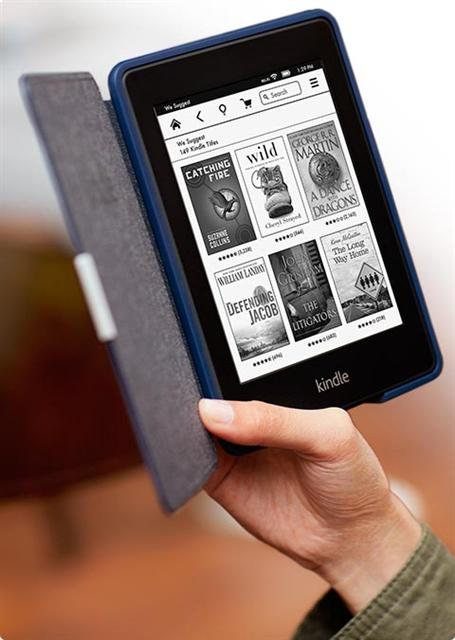 Amazon Kindle Paperwhite e-book reader