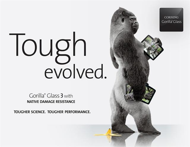 CES 2013: Corning Gorilla Glass 3
