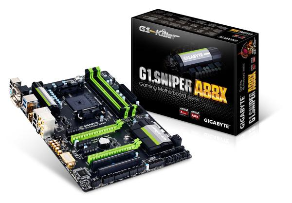 Gigabyte G1.Sniper A88X gaming motherboard
