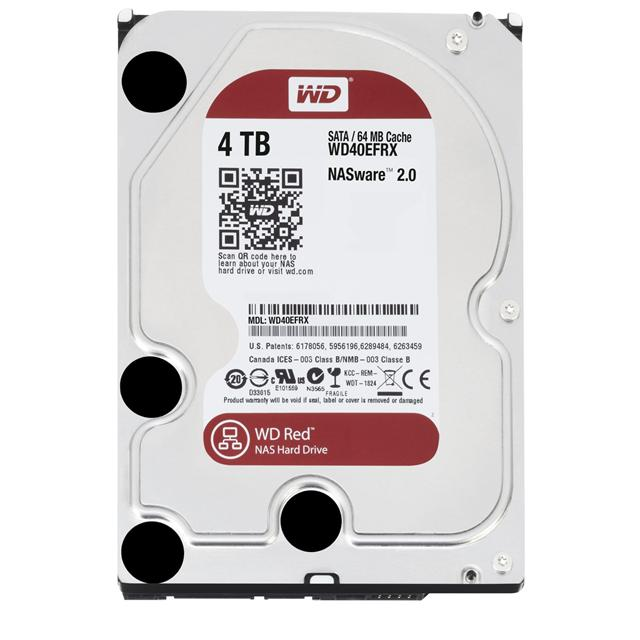Western Digital 3.5-inch 4TB Red hard drive