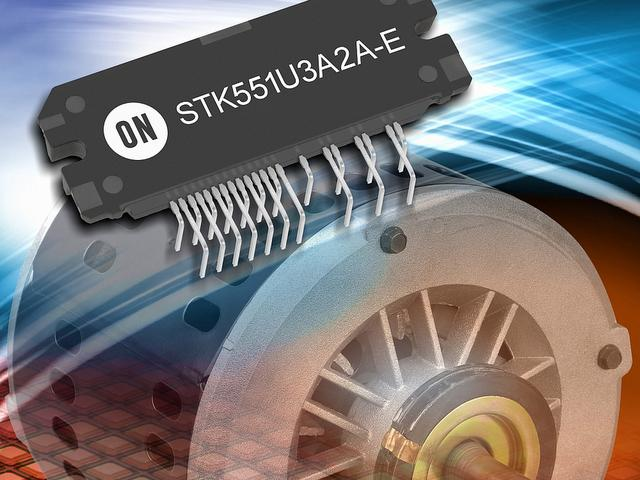 On Semiconductor power modules for motor controls