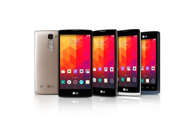 LG Magna, Spirit, Leon and Joy smartphones