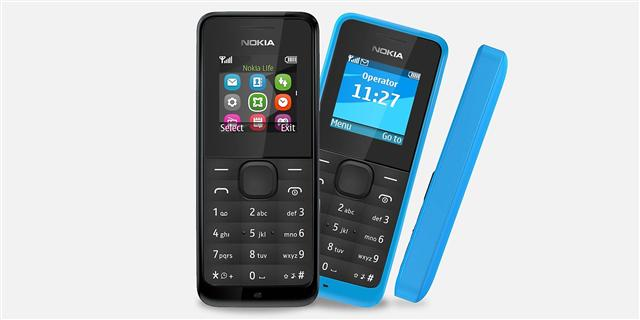 Microsoft Nokia 105 and Nokia 105 Dual SIM feature phone
