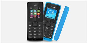 Microsoft+Nokia+105+and+Nokia+105+Dual+SIM+feature+phone