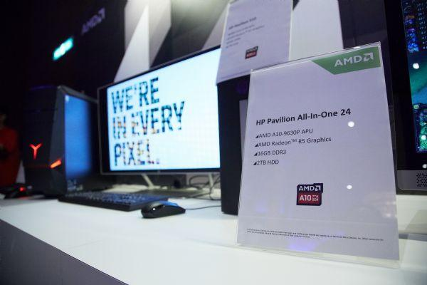 A PC using AMD's new A series APU