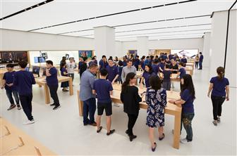 Apple+Taipei+101+store