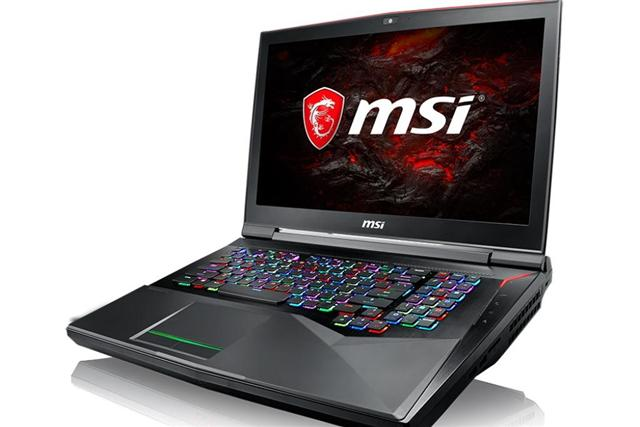 MSI GT75VR gaming notebook