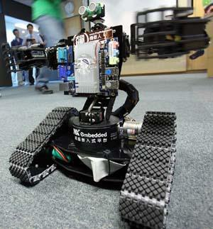 Robot+that+adopts+VIA+pico%2DITX%2Dbased+motherboard