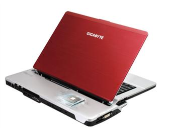 Gigabyte+ultra%2Dthin+notebook+with+a+docking+station