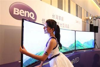BenQ+pushes+curved+Full+HD+TVs+in+the+market