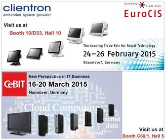 Clientron+to+exhibit+its+latest+POS+and+Thin+Client+solutions+at+EuroCIS+2015+and+CeBIT+2015