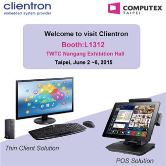 Clientron+exhibits+its+latest+thin+client+and+POS+solutions