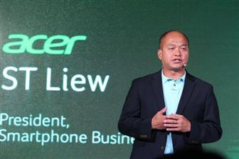 Acer+smartphone+business+unit+president+ST+Liew