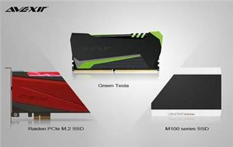 AVEXIR+announces+M100+series+SSD%2C+Raiden+PCIe+M%2E2+SSD+and+Green+Tesla