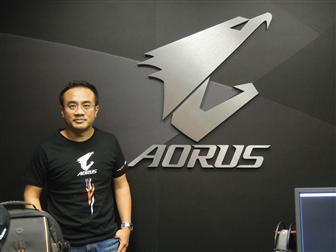 Eddie+Lin%2C+associate+VP+for+Aorus