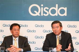 Qisda+chairman+and+president+Peter+Chen+%28right%29
