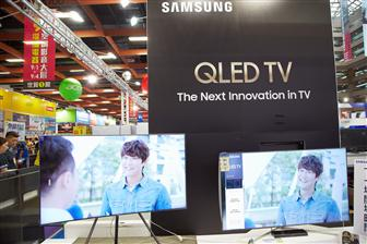 Samsung+expects+robust+shipment+growth+for+its+QLED+TVs