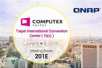 QNAP+Systems+at+Computex%2C+Taipei+International+Convention+Center+%28TICC%29%2C+Meeting+Room+201E