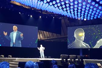 PTC president and CEO Jim Heppelmann addresses at LiveWorx 2018