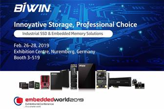 Biwin+at+Embedded+World+2019