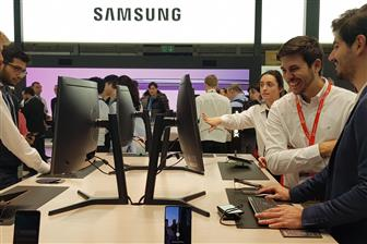 An+array+of+Samsung%27s+products+at+MWC+2019+
