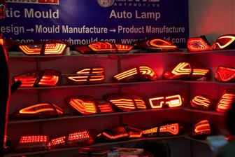LED automotive tailight and headlight modules