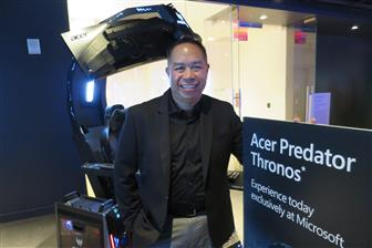 Acer vice president of US retail channel John Nguyen
