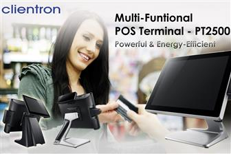 Clientron introduces its new powerful POS Terminal PT2500