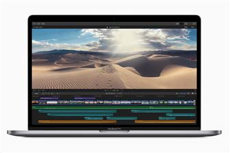 Apple new MacBook Pro with an 8-core processor