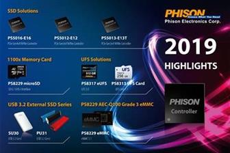 Phison solution highlights at Computex 2019