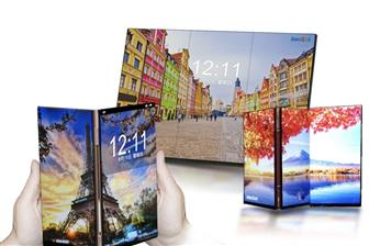 Innolux+promoting+bezel%2Dless+flexible+panels
