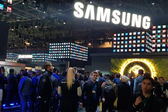 Samsung+showcasing+its+products+at+CES+2020