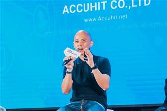 AccuHit AI Technology Taiwan co-founder and CEO Jason Lin