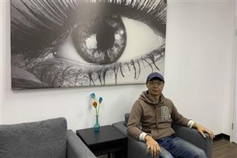 OmniEyes co-founder and CEO Chou Chun-ting