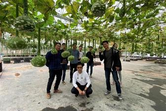 Hugreen founder and CEO Clement Lee (front right) and colleagues