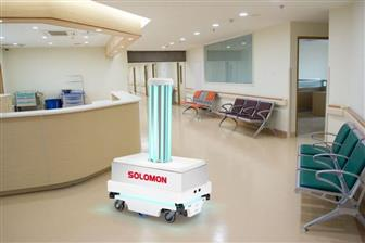 Solomon disinfection robot