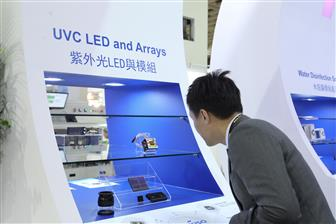 Use of UV-C LED in disinfection