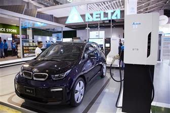 A+EV+power+charging+station+developed+by+Delta+Electronics