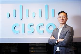 George Chen, general manager for Cisco Systems Taiwan and senior vice president for Cisco Systems G